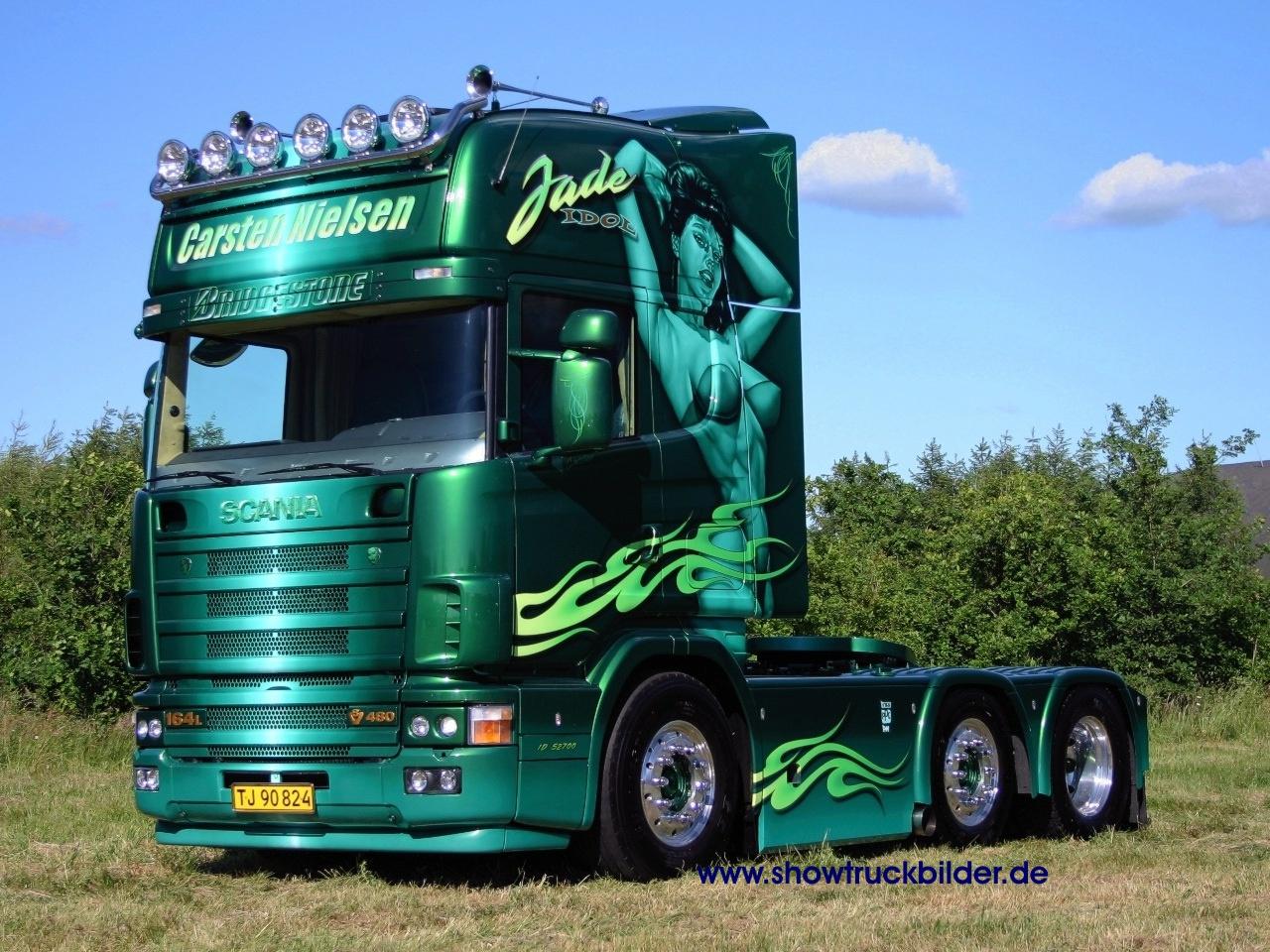 HQ green trailer Scania Trucks Wallpaper Num 66 1280 x 960 4926 Kb 1280x960