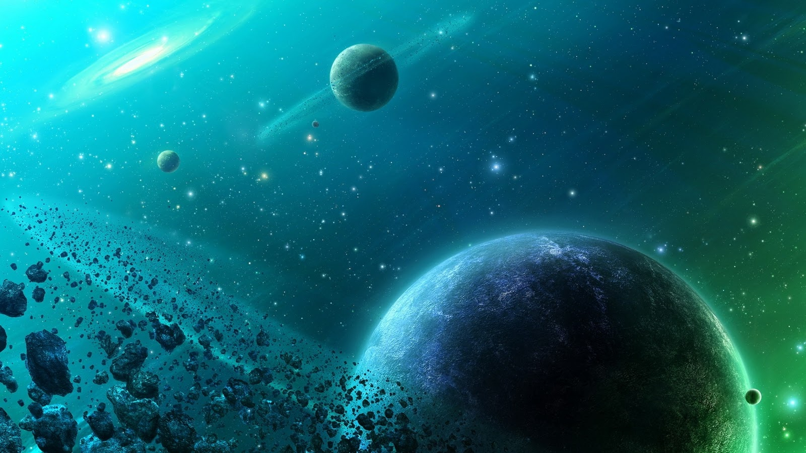 Space HD Desktop Wallpapers 1600x900