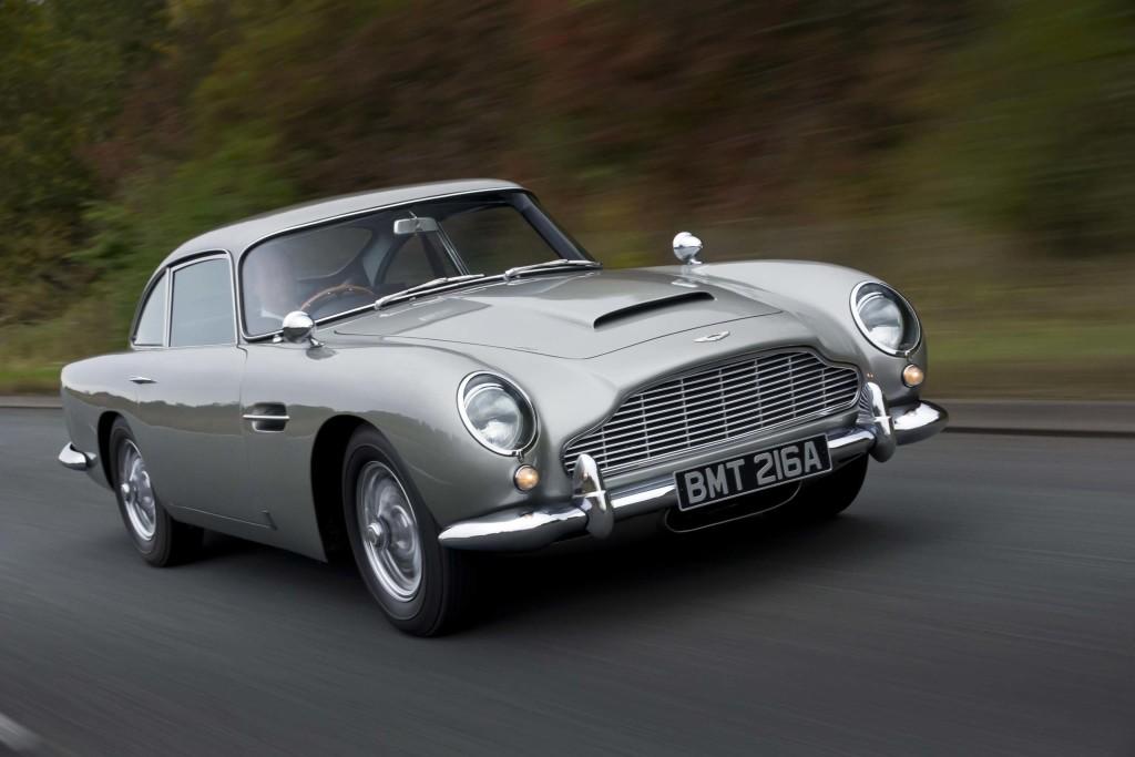 Aston Martin DB5 James Bond Wallpaper 1024x683
