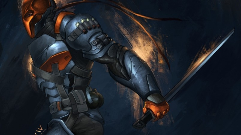 Games Other games Deathstroke batman arkham origins wallpaper 804x452