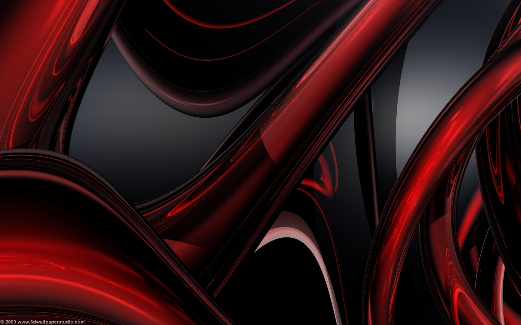 Red And Black Abstract Wallpapers 1680x1050