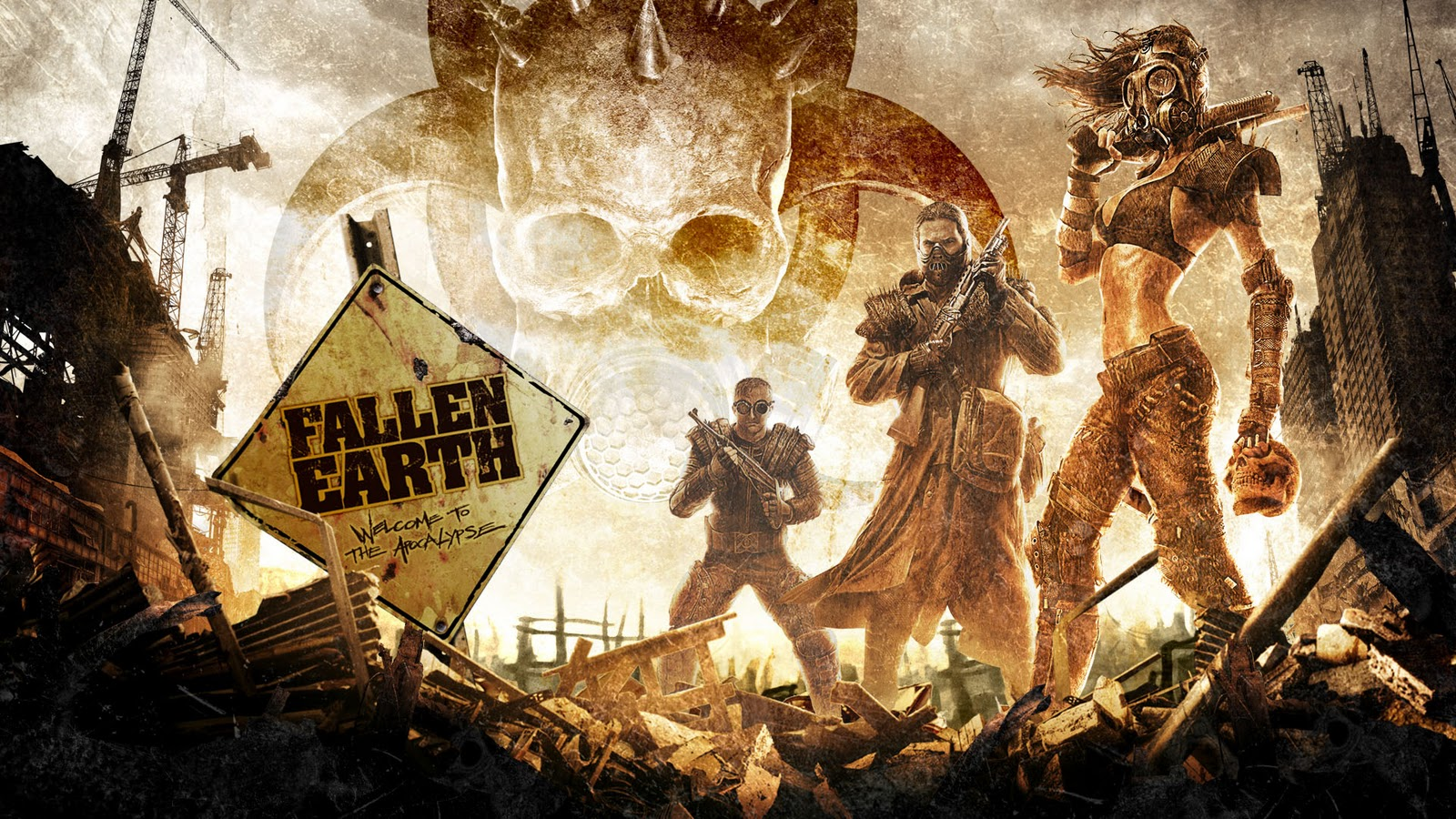 Fallen Earth HD Desktop Wallpapers Desktop Wallpapers 1600x900