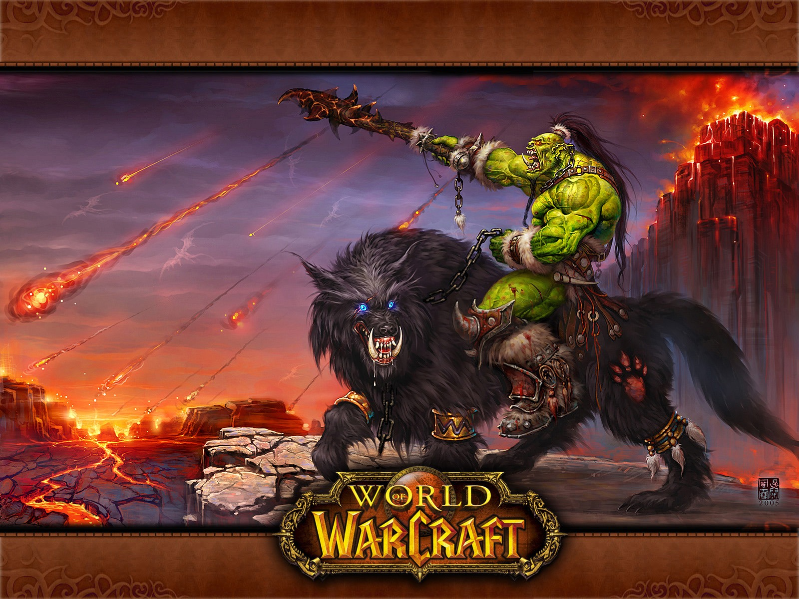 Free Download World Of Warcraft Orc Desktop Wallpaper