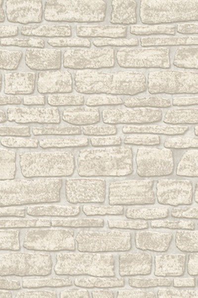 Beige Layered Stone Wallpaper 400x600
