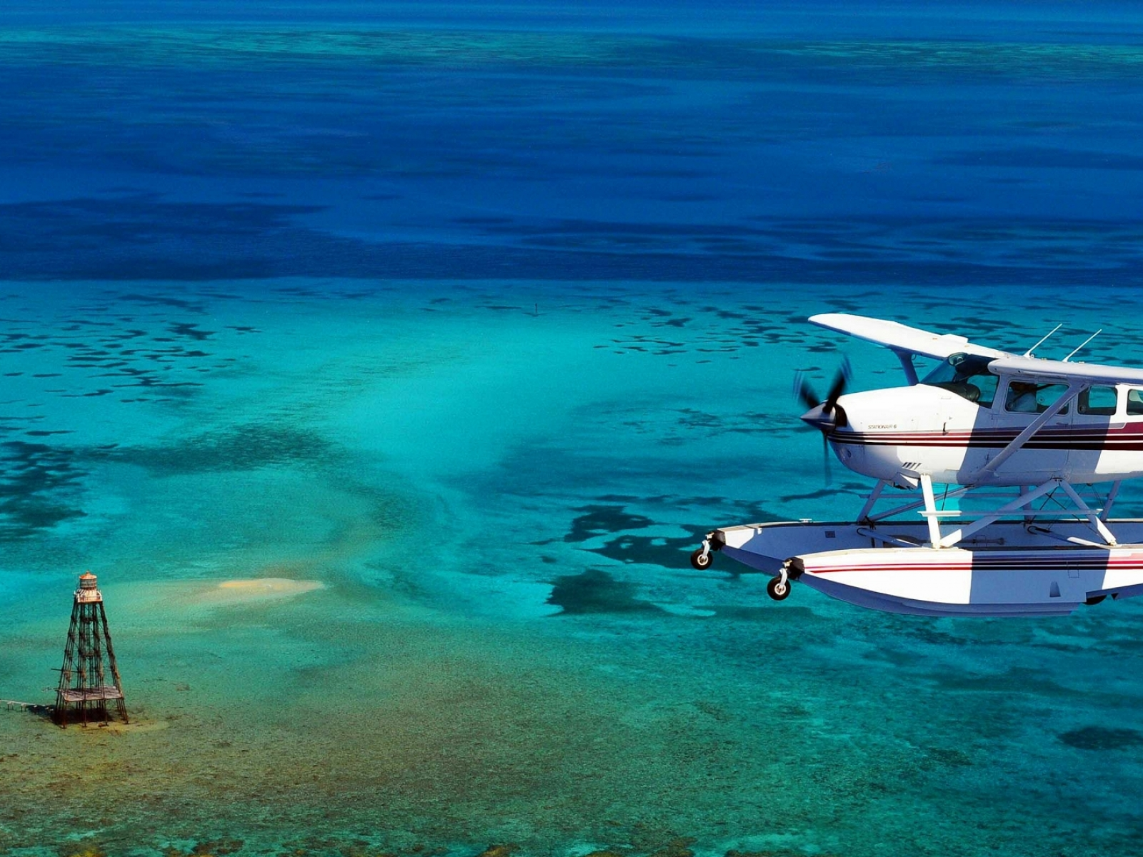 cessna aviation coral reef cessna 206 stationair 1920x1080 wallpaper 1600x1200