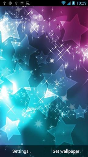 Glitter Live Wallpaper Screenshot 1 288x512