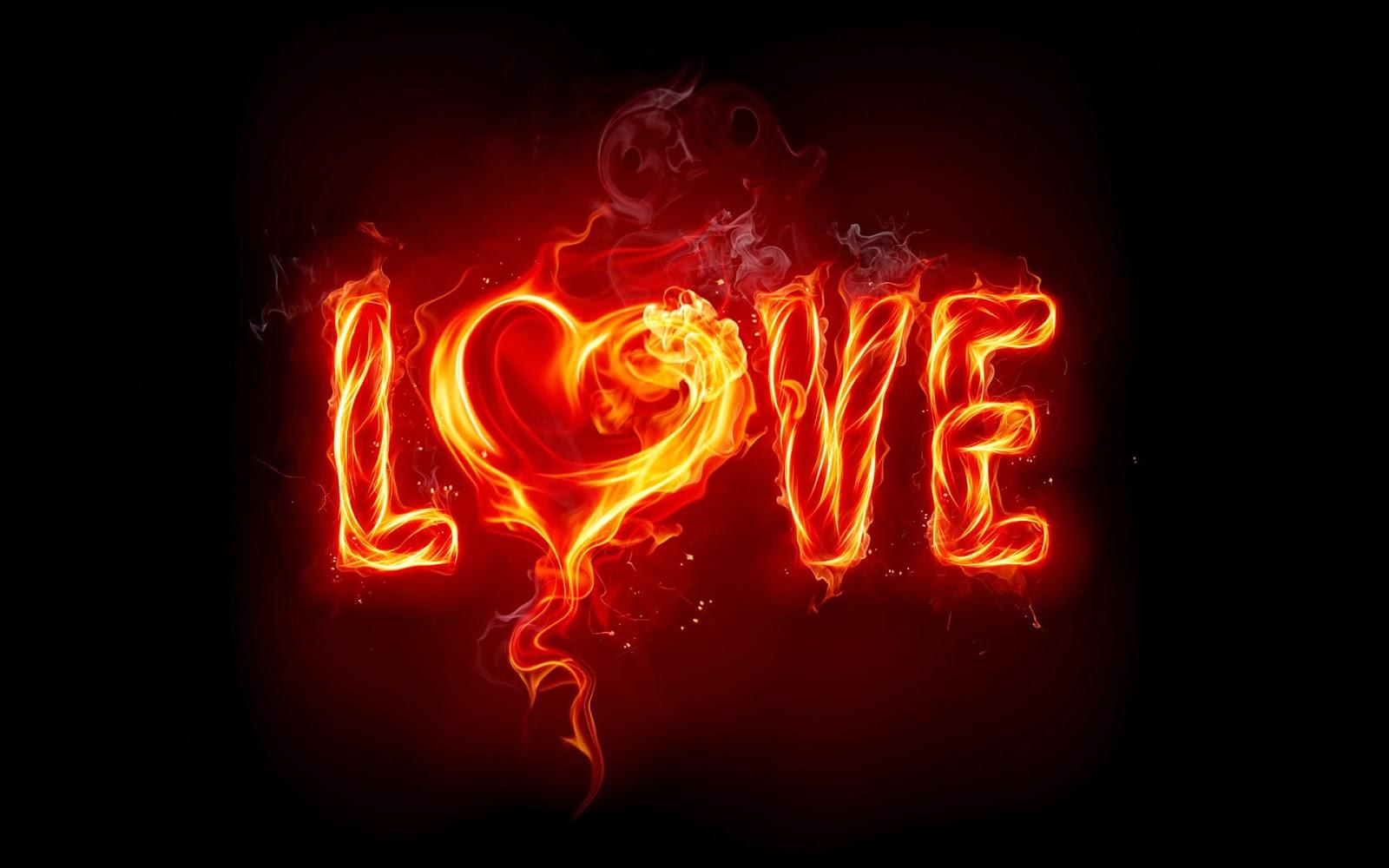 Heart On Fire Heart on fire  hd wallpaper 1600x1000