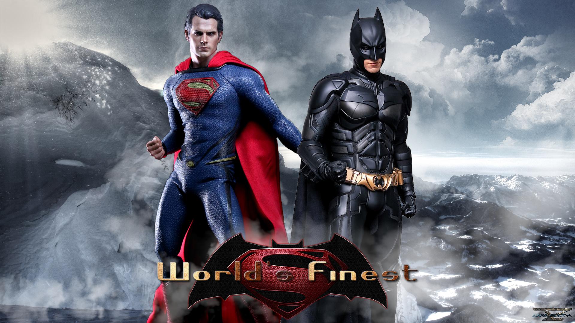 Batman Vs Superman   Worlds Finest Hot Toys Full HD Wallpaper 1920x1080