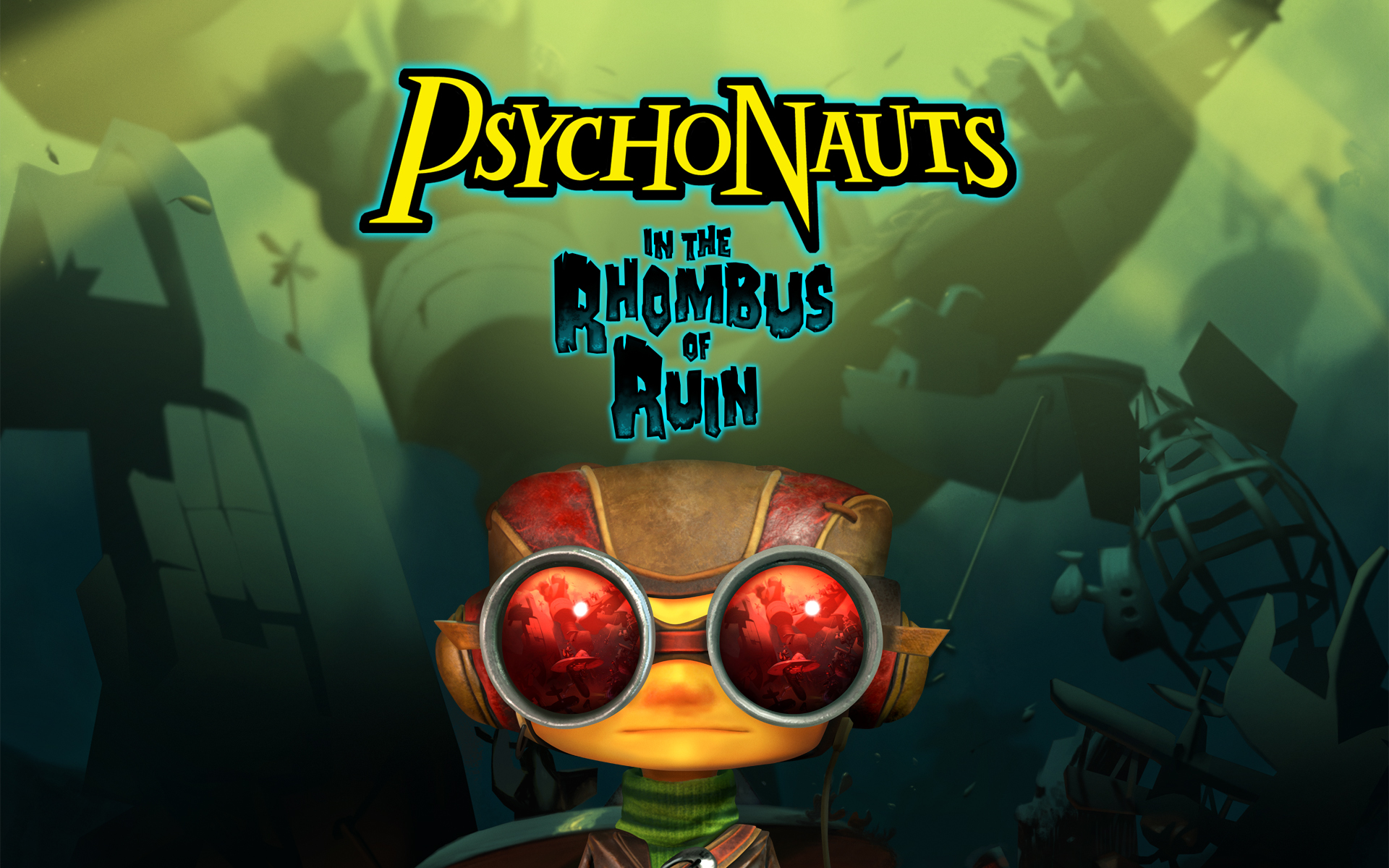 All Games Delta Psychonauts in the Rhombus of Ruin Coming to 1920x1200