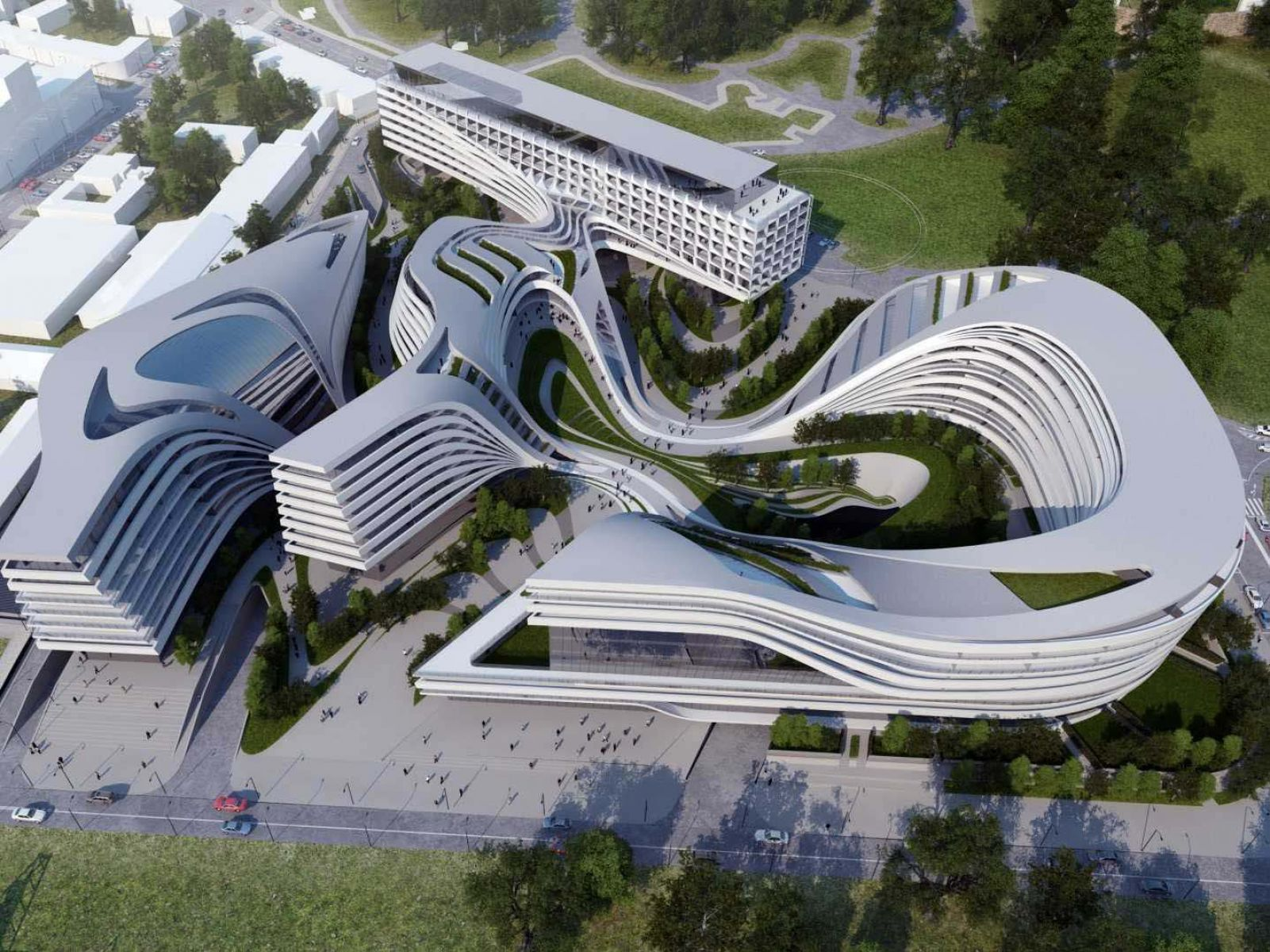 The Otherworldly Architecture of Zaha Hadid HD Architecture and 1601x1200