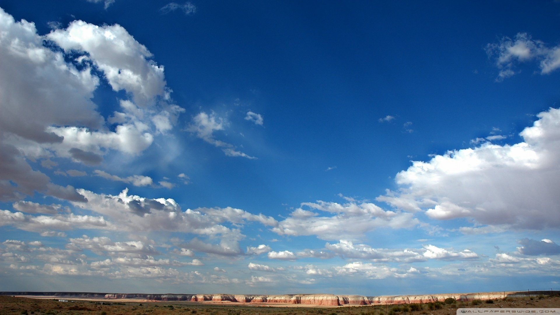 [44+] Blue Sky with Clouds Wallpaper on WallpaperSafari