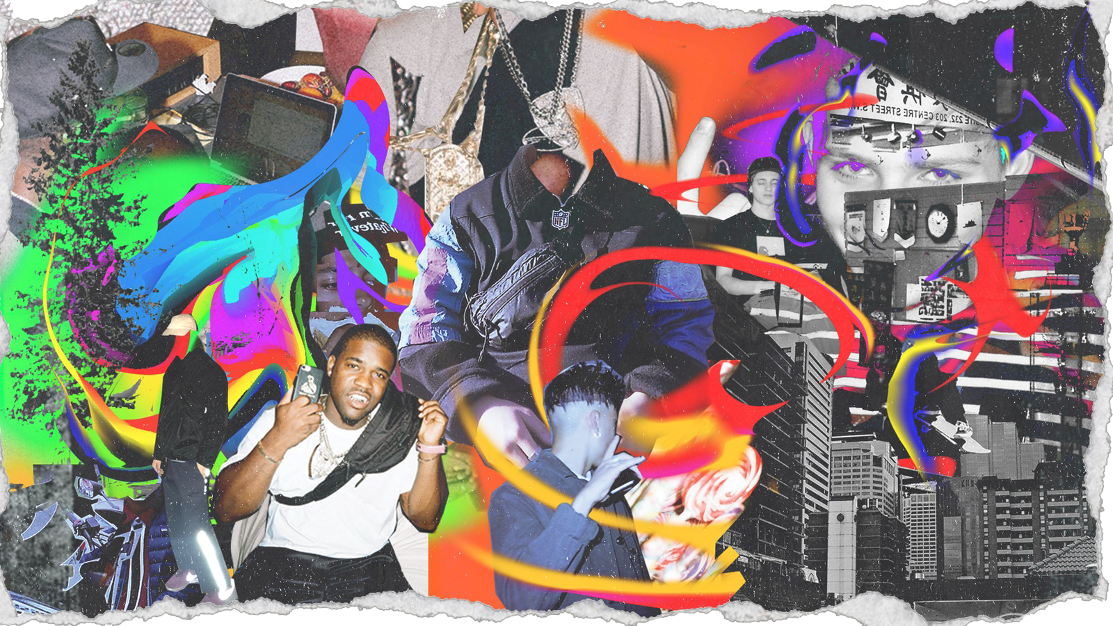 How Math Creates Collage Art for ASAP Mob HYPEBEAST 1600x900