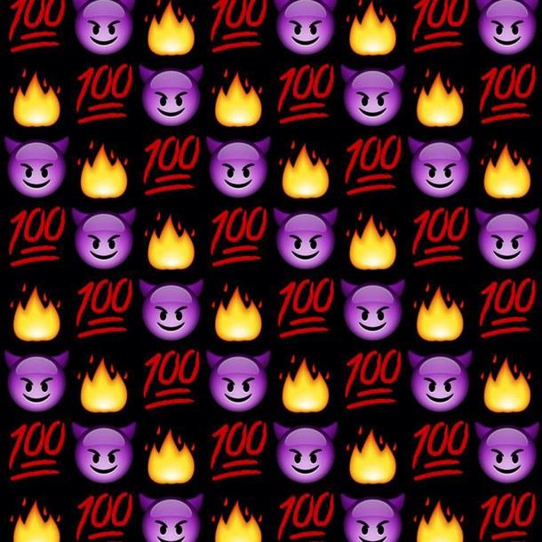 emoji emoticon fire wallpaper emoji wallpaper emoji background 610x610