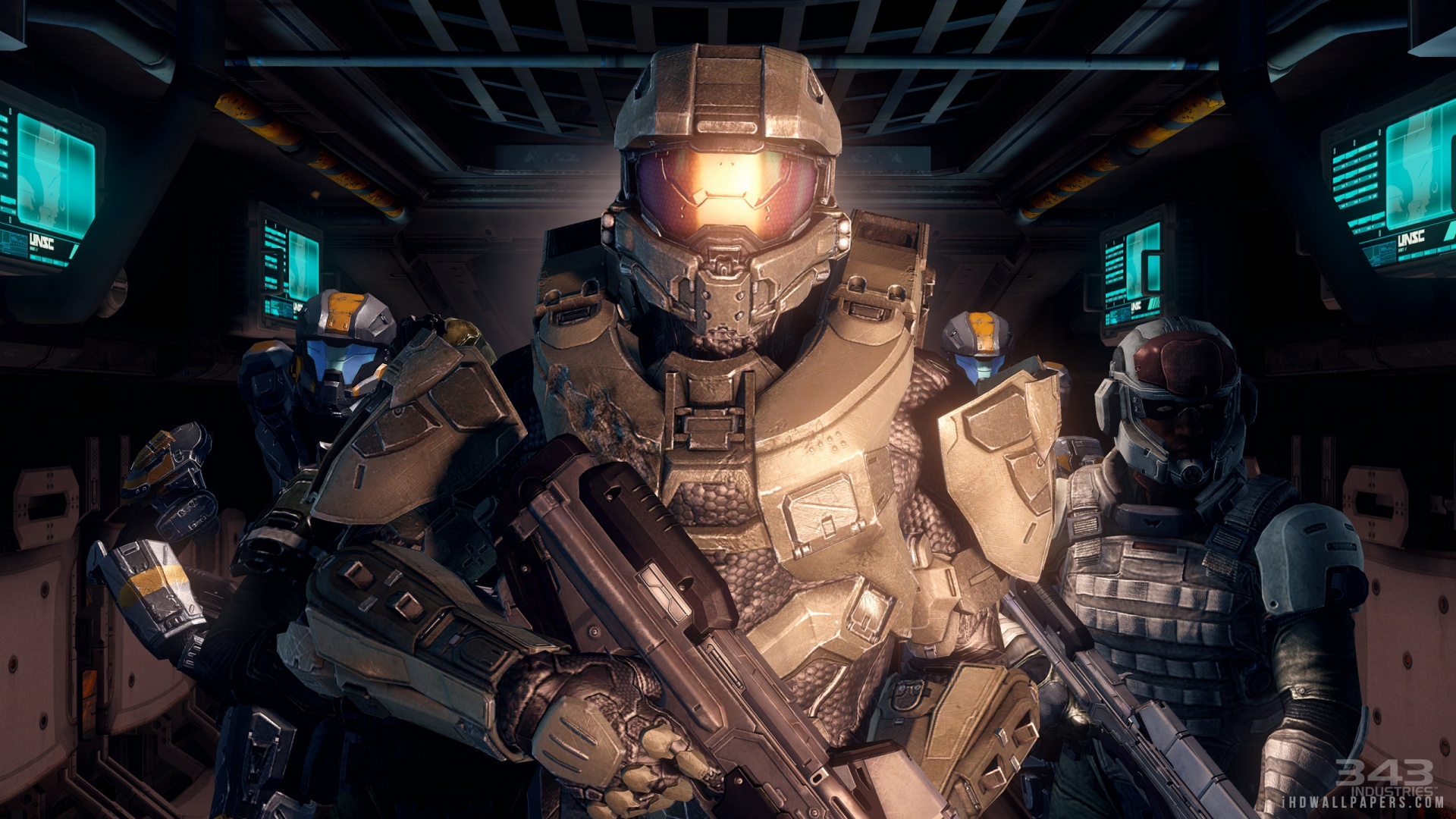 Halo 4 Multiplayer HD Wallpaper   iHD Wallpapers 1920x1080