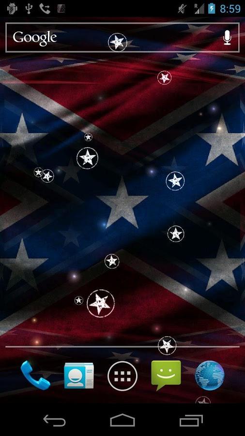 3D Rebel Flag Live Wallpaper   screenshot 506x900