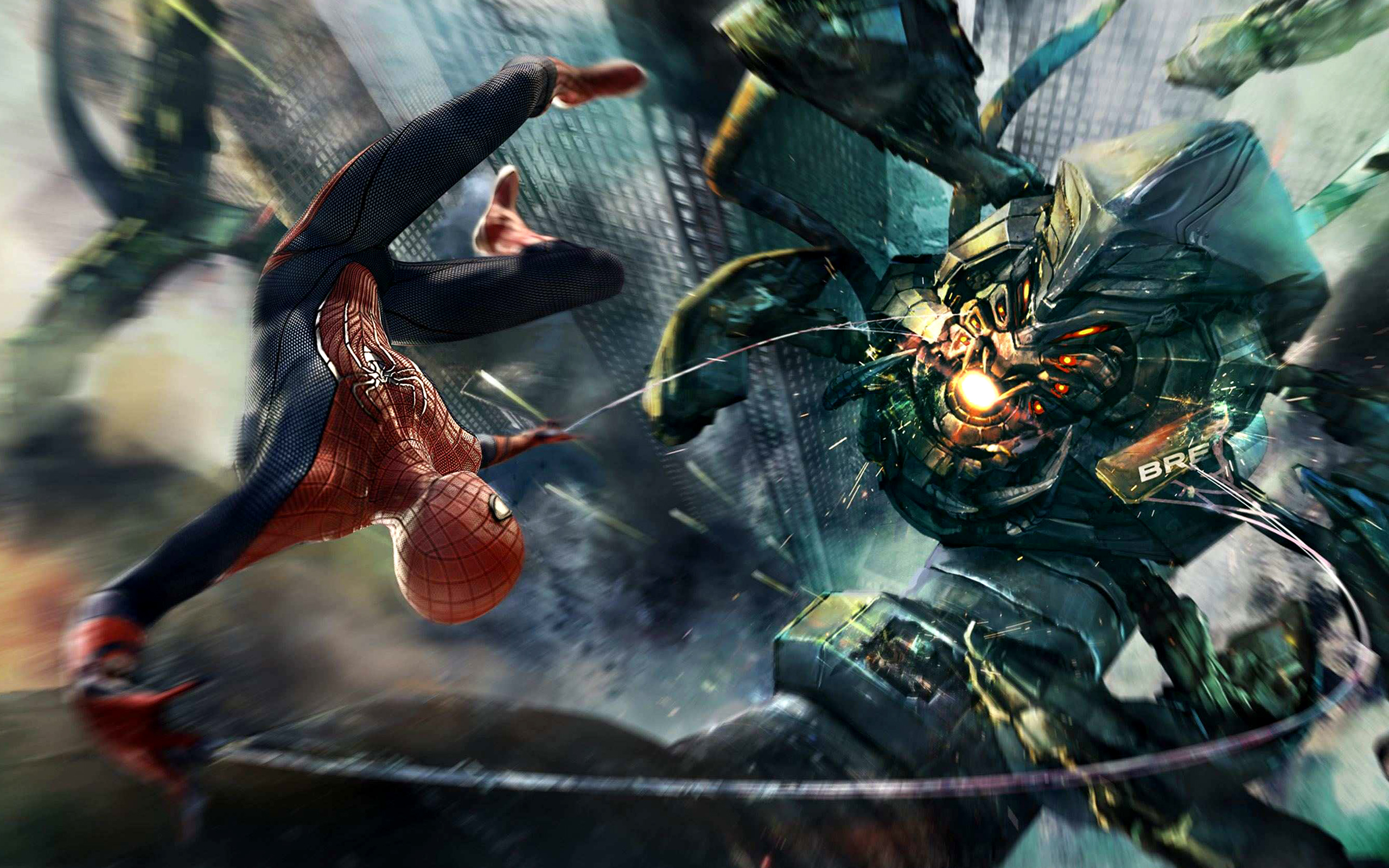 Amazing Spider Man Boss Fight Wallpapers HD Wallpapers 2560x1600