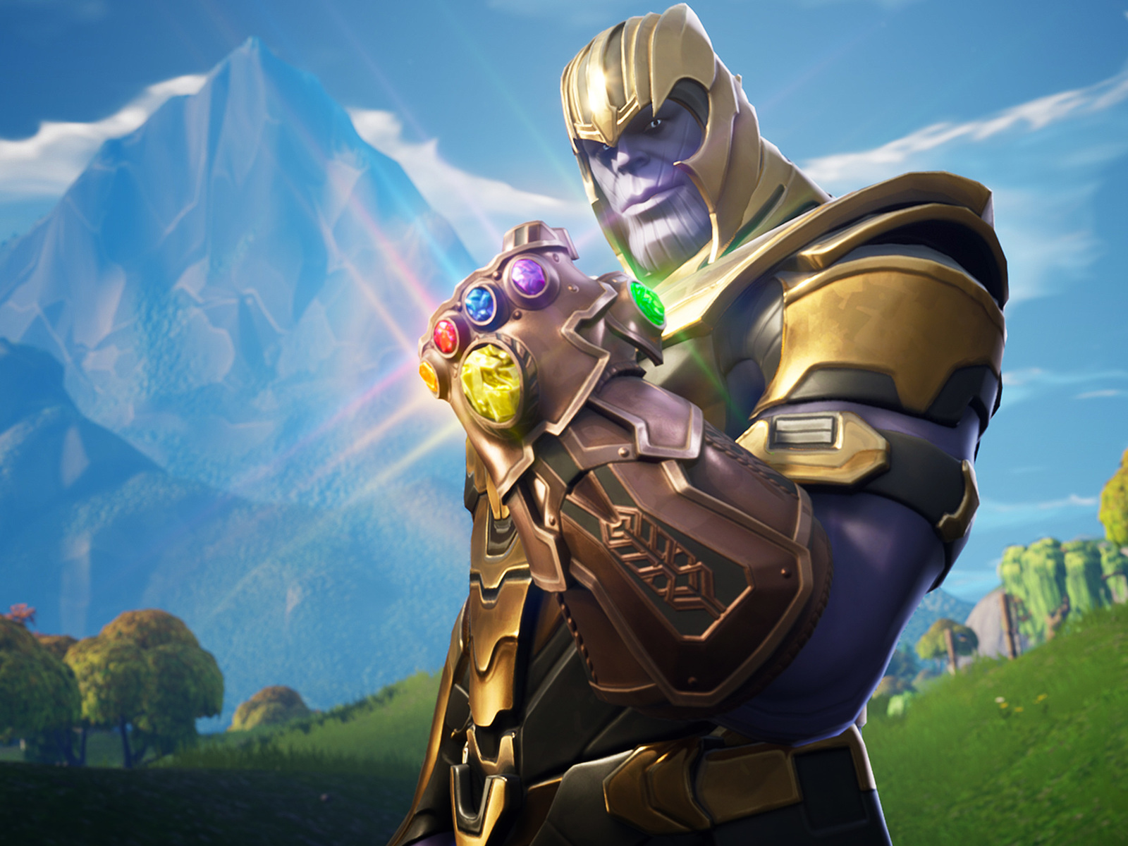 1600x1200 Thanos In Fortnite Battle Royale 1600x1200 Resolution HD 1600x1200