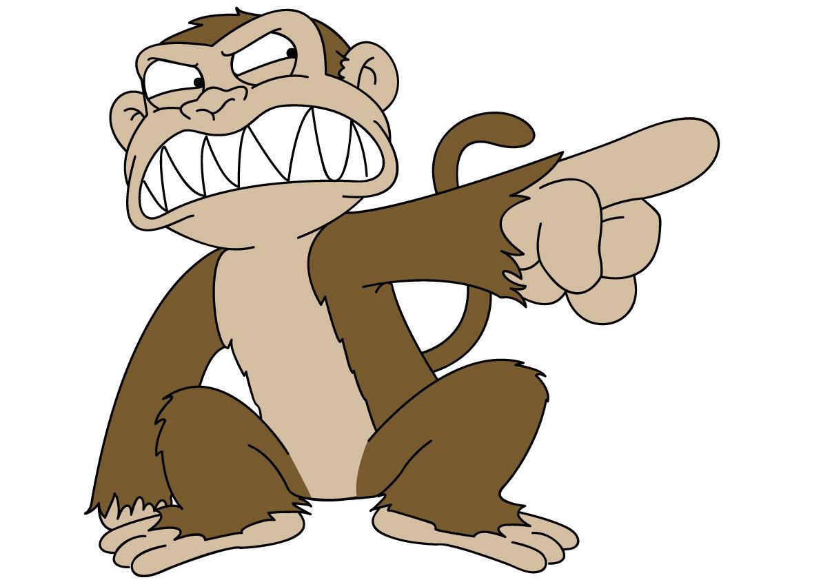 Evil Cartoon Wallpapers Evil Monkey Cartoon 1191x842