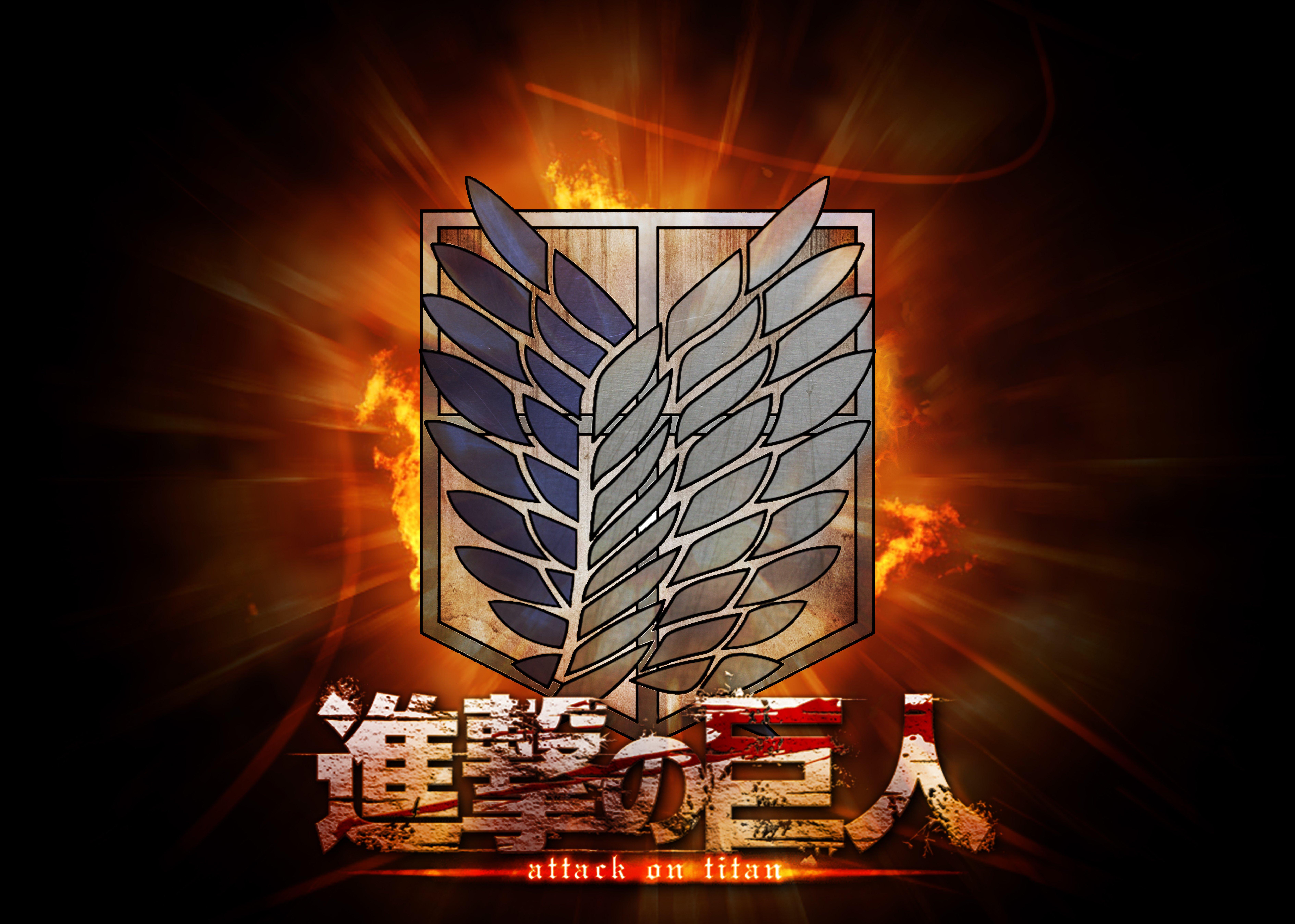 Attack on Titan Wallpaper 1366x768 Attack on Titan Wallpaper by 7560x5400