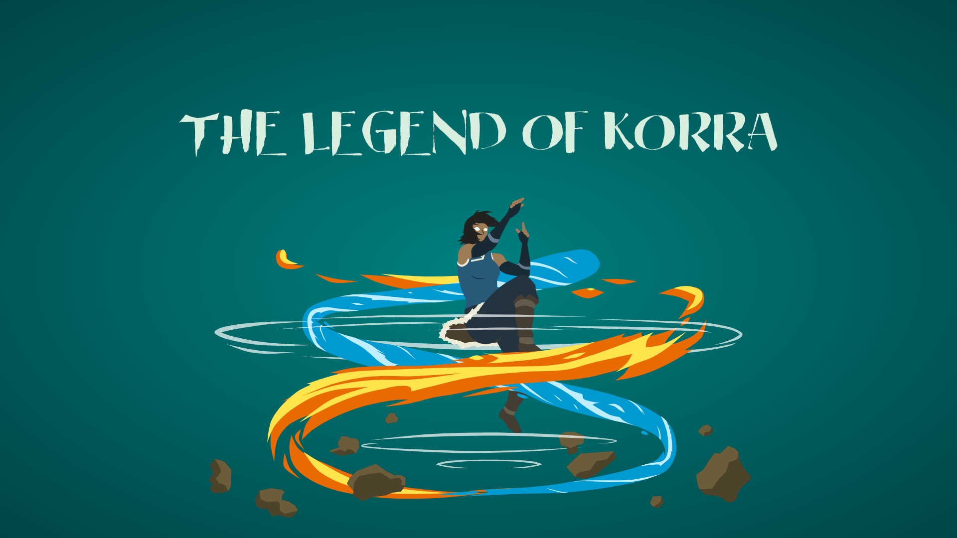 I made another LoK wallpaper with some bending this time 1920x1080