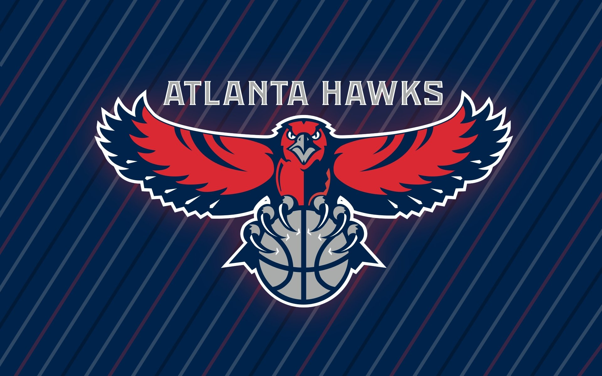 Atlanta Hawks Logo Wallpaper