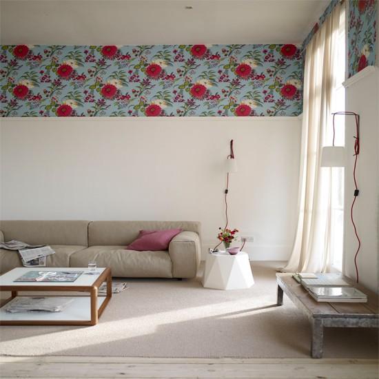 wallpaper ideas for bedroom border Wallpaper ideas 550x550