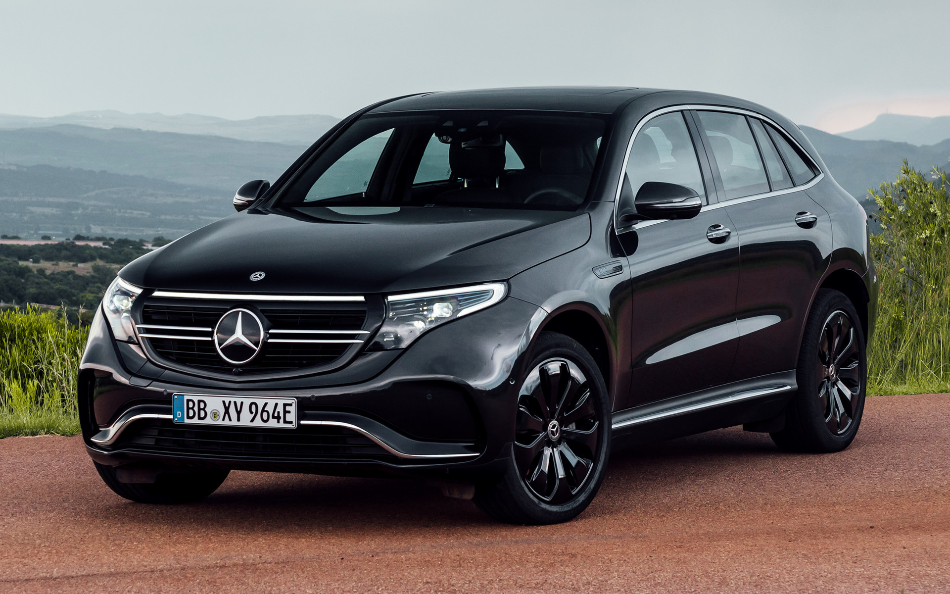 2019 Mercedes Benz EQC AMG Line   Wallpapers and HD Images Car Pixel 1920x1200