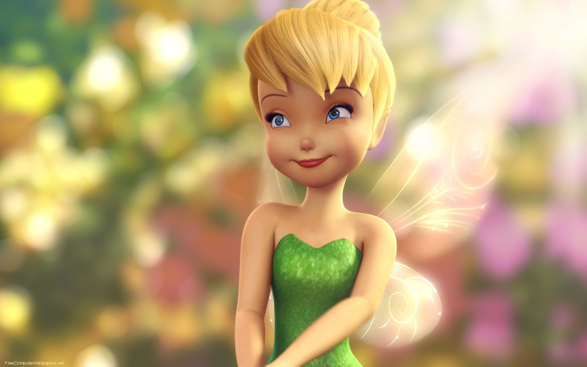Tinkerbell peter pan wallpaper background 1920x1200