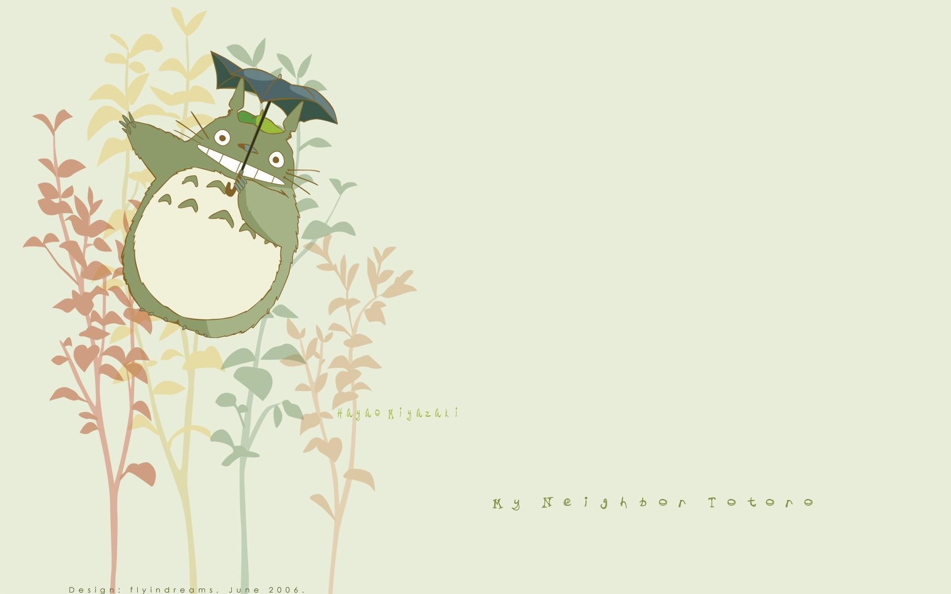 Totoro Studio Ghibli Art Wallpaper 1920x1200 Full HD Wallpapers 1920x1200