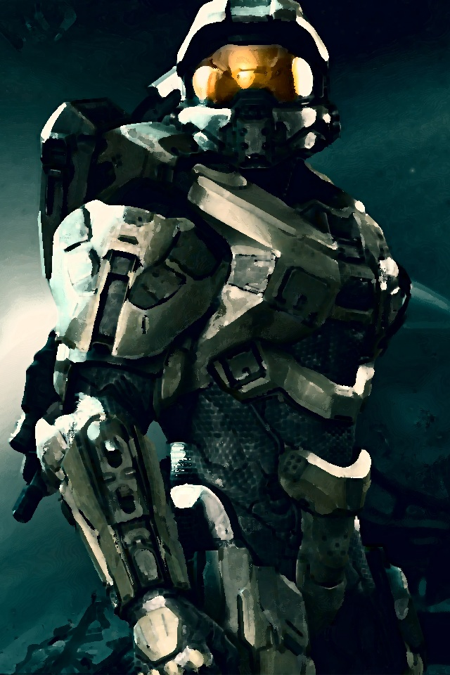 Halo 4 iPhone 44S Master Chief Wallpaper by XMasterChief117X 640x960
