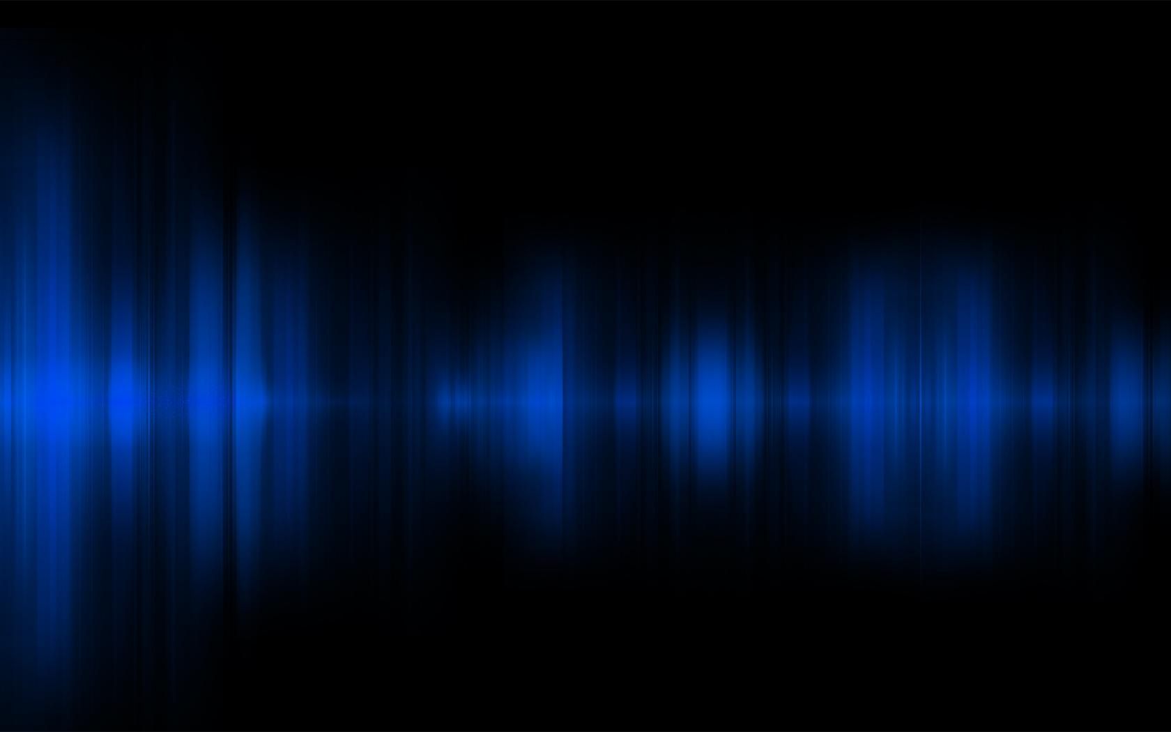 Download Abstract Blue Digital Art Black Background Wallpaper Full 1680x1050