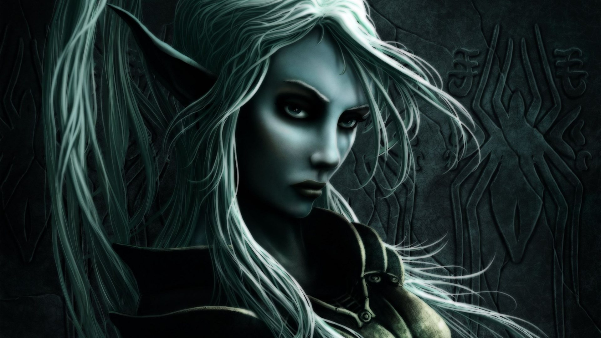 Dark Elf Full HD Desktop Wallpapers 1080p 1920x1080