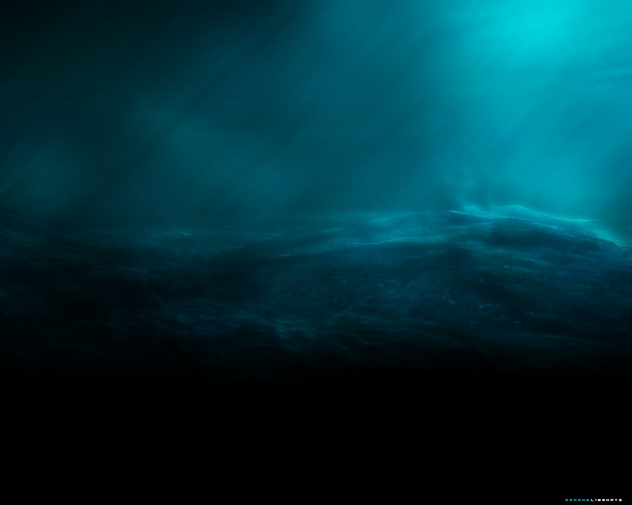 ocean depth wallpaper background 1280x1024