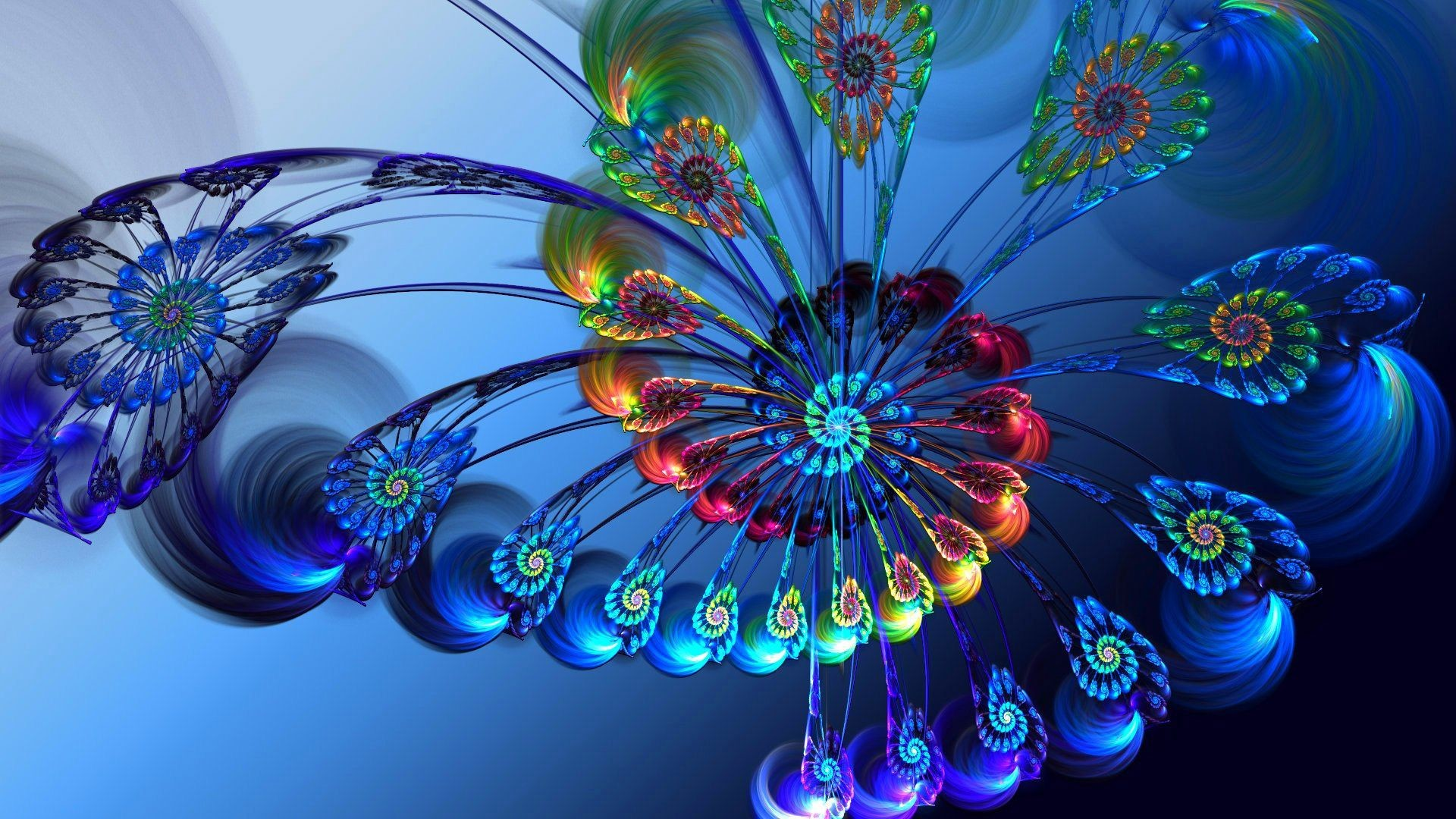 78 Hd Fractal Wallpapers on WallpaperPlay 1920x1080