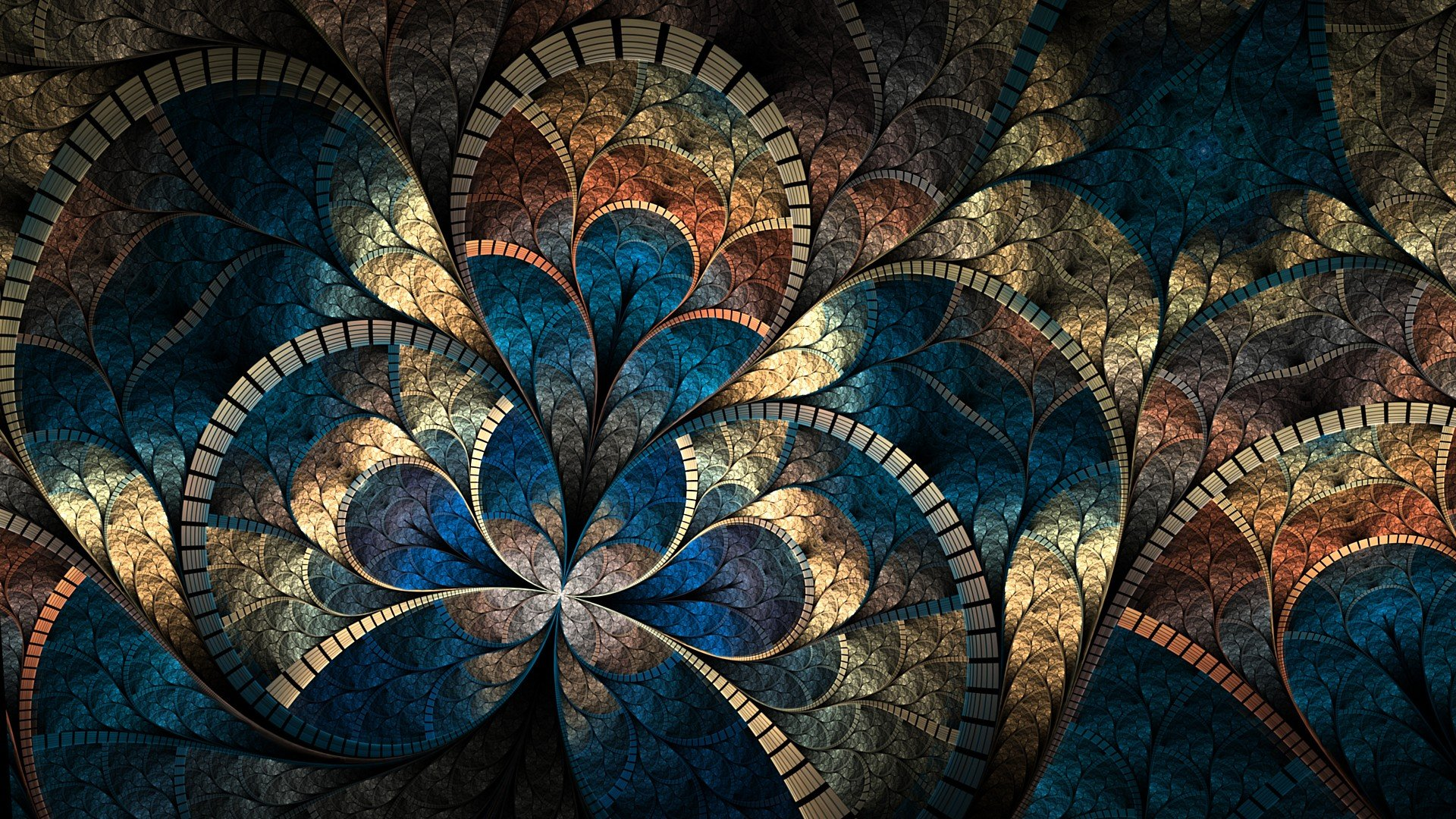 Fractal Wallpaper 1920x1080  WallpaperSafari
