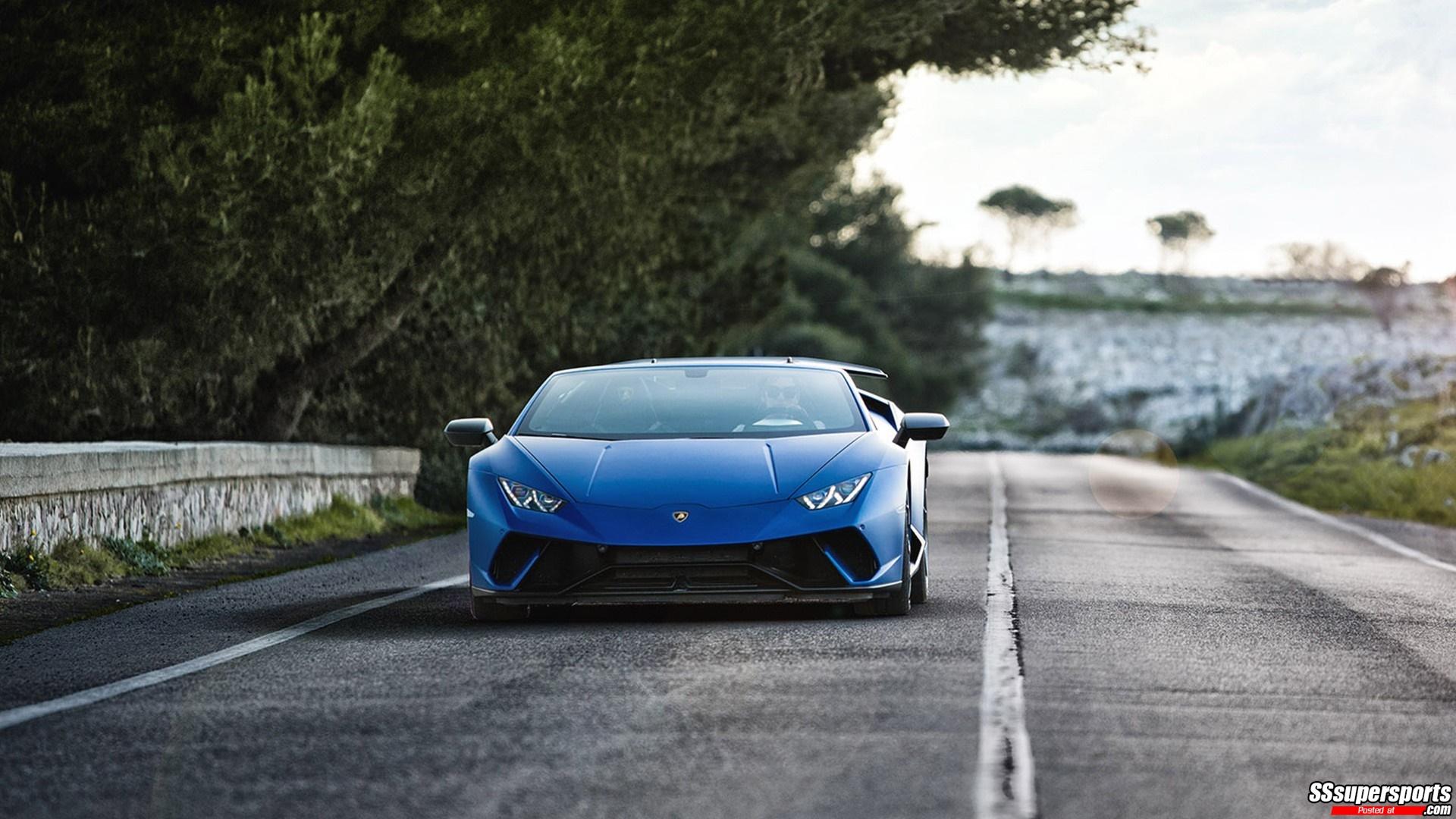 29 Lamborghini Huracan Spyder Performante Wallpapers On
