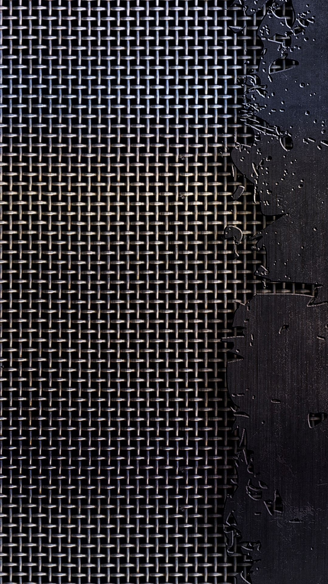 Metal mesh cracks scratches HTC One wallpaper in 2019 Metal 1080x1920