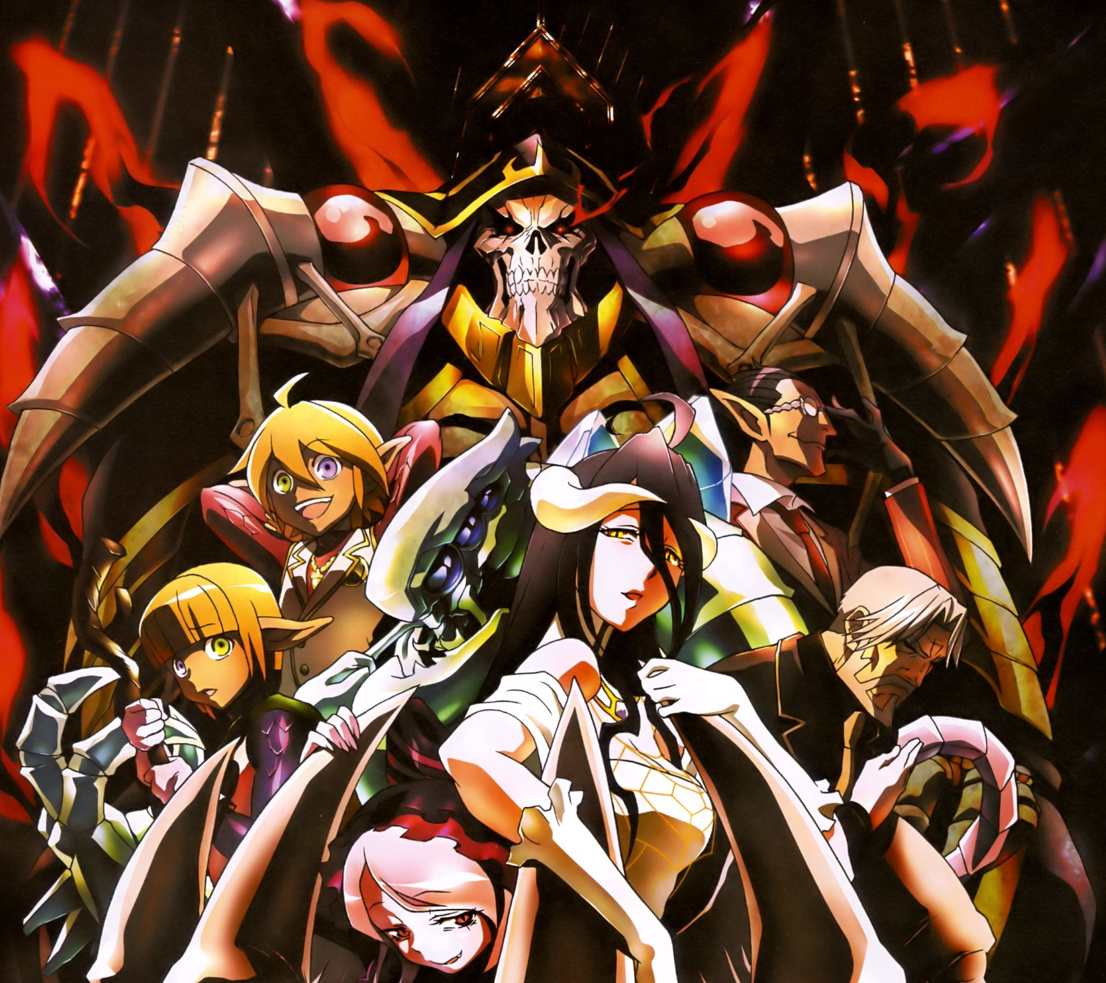 Free Download Overlord Anime Wallpapers For Smartphones