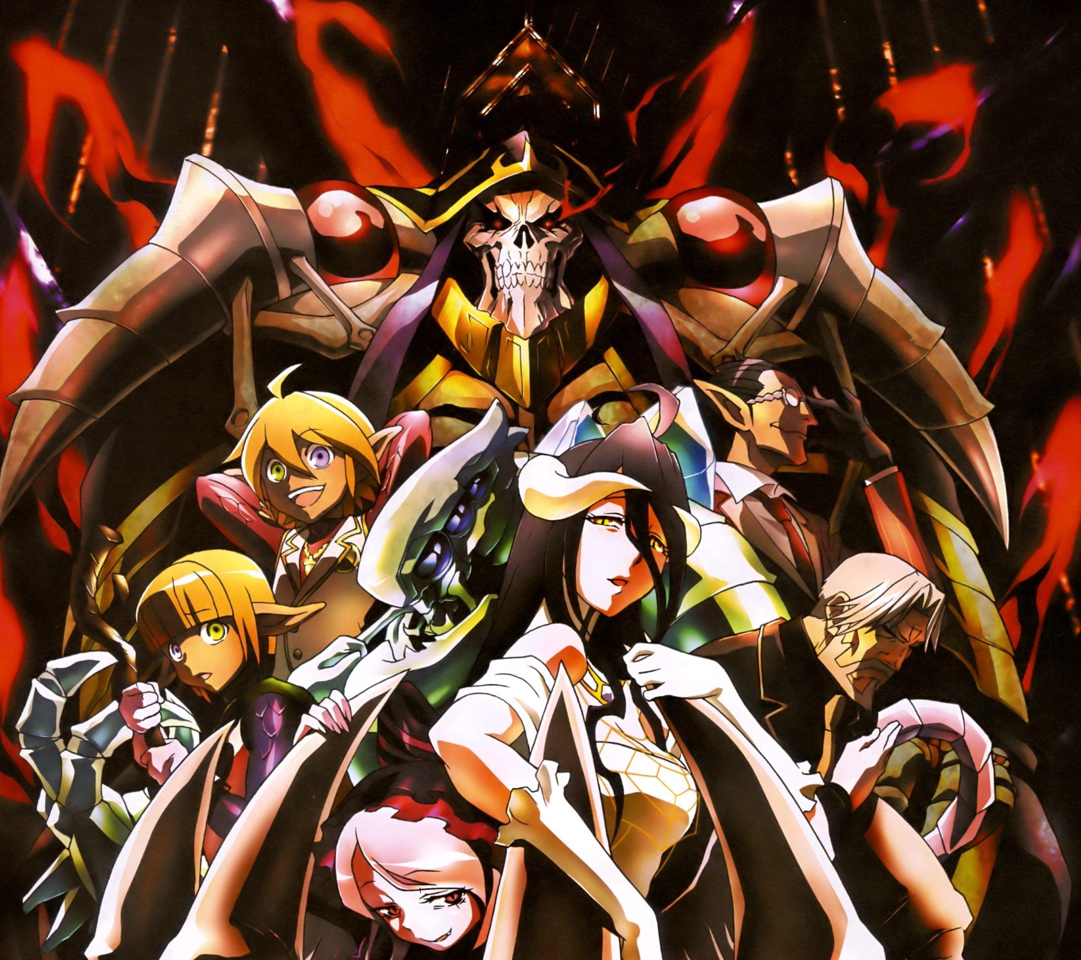 Overlord anime albedo wallpaper wallpapersafari - Anime wallpaper for smartphone ...