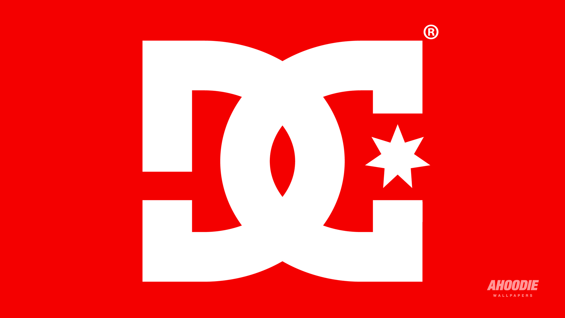 DC Shoes White Logo Red Wallpaper HD High Resolution 1920x1080