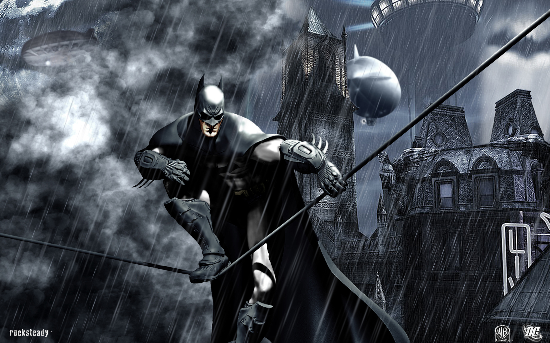 Batman Arkham City Wallpaper HD   Select Game 1920x1200