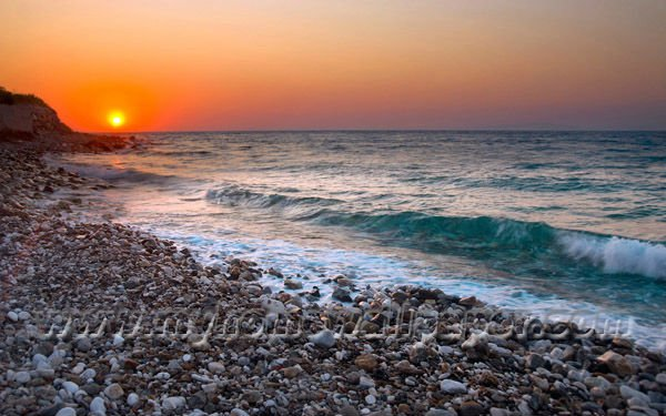 sunset sea landscape mural wallpaper murals 3d bh2111  605238417html 600x375