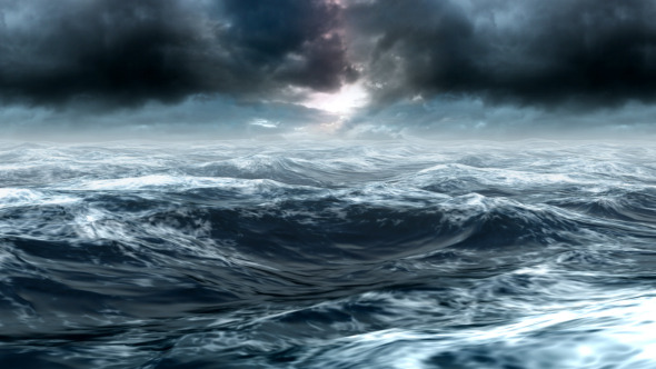 Stormy Sea Background Video preview. 2 stormy sea