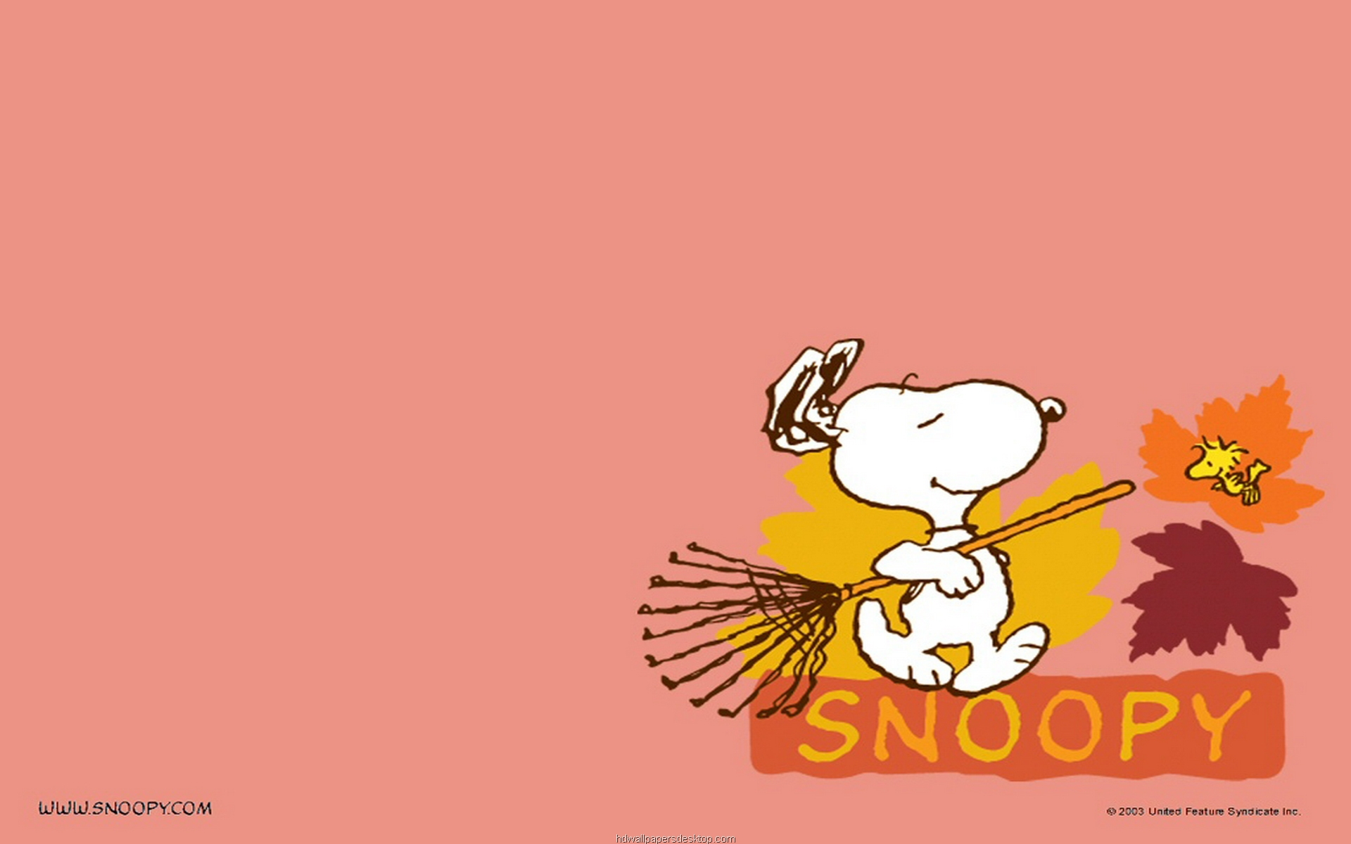 Snoopy Peanuts Desktop Wallpaper 1920x1200
