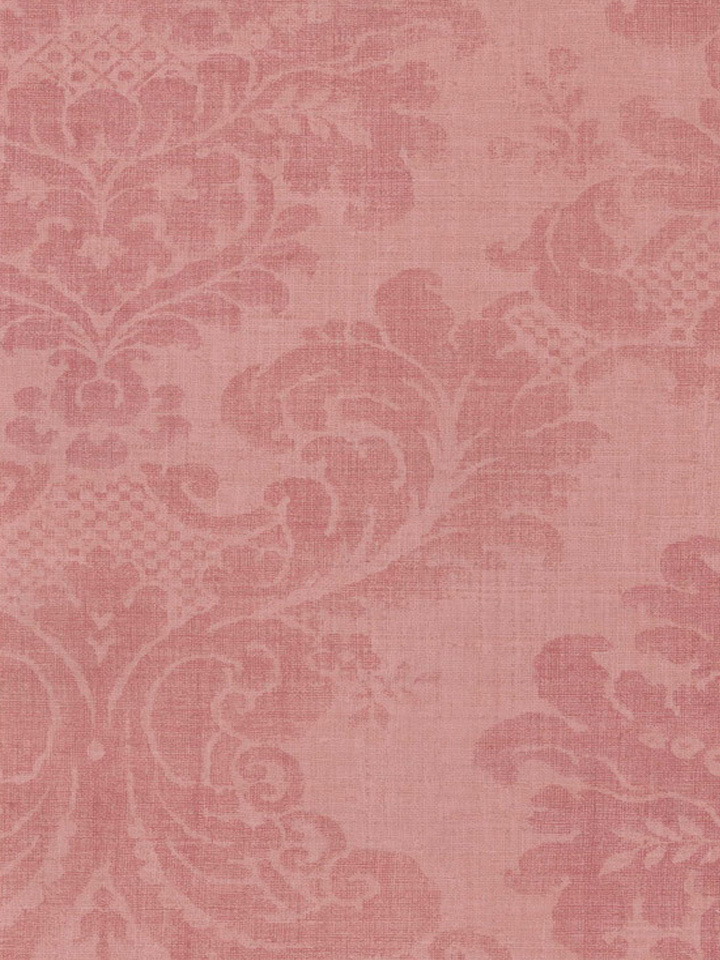 Pink Faded Damask Wallpaper   Traditional Wallpaper 720x960