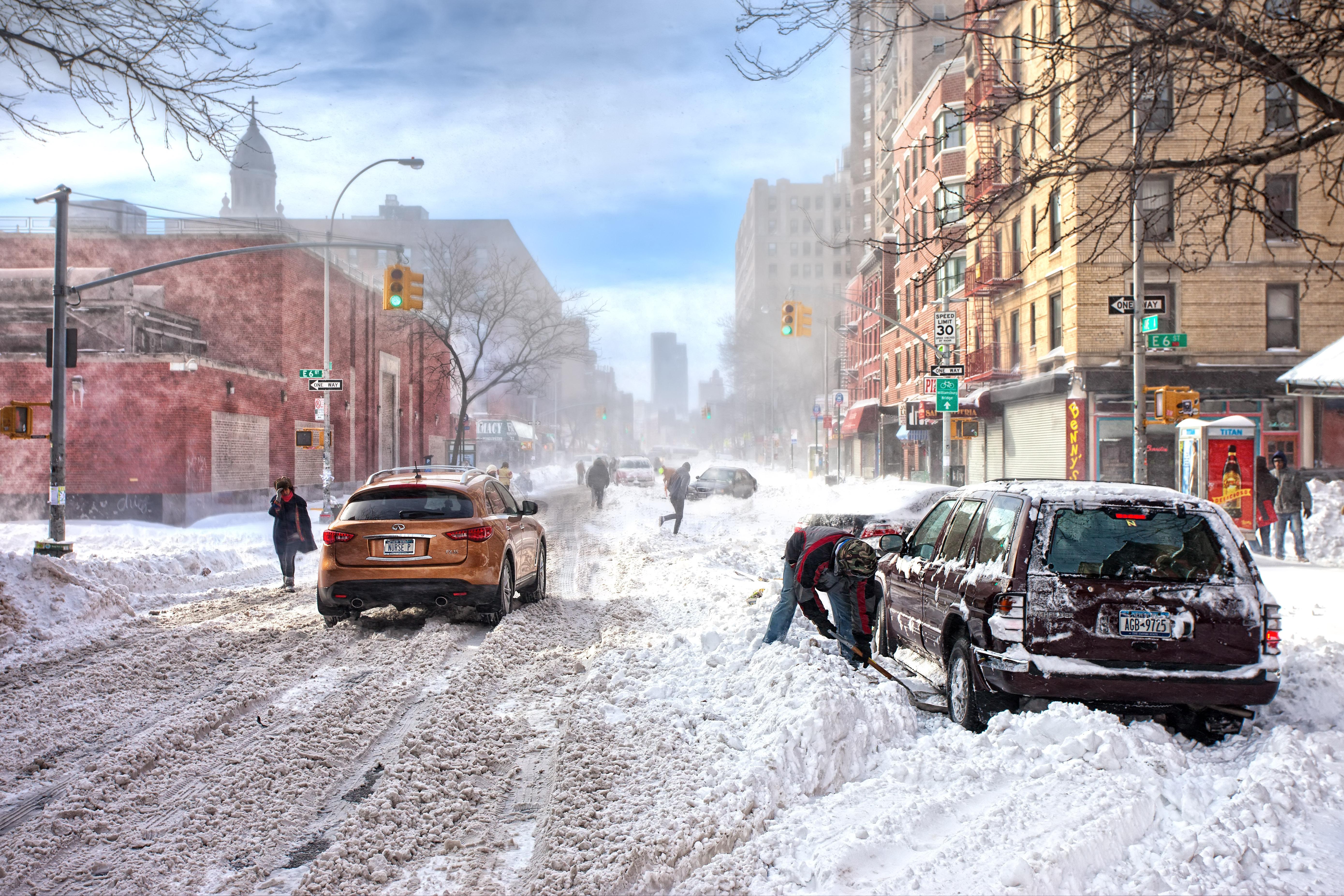 Bad weather snow winter new york new york snow infinity 5559x3706