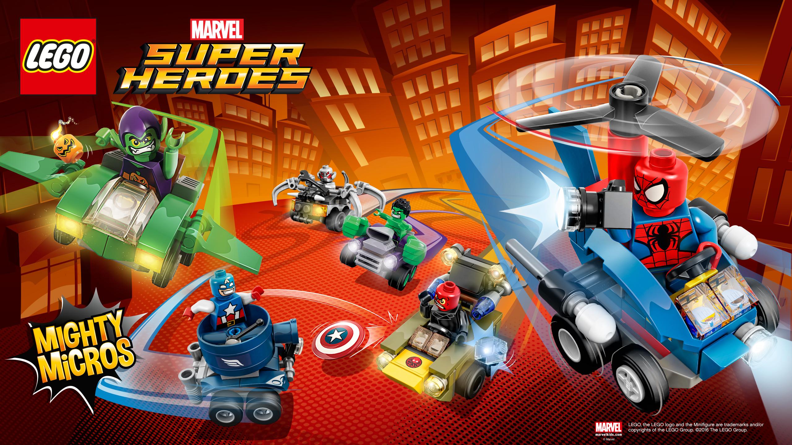 Kids n funcom Wallpaper Lego Marvel Superheroes Lego Marvel 2560x1440