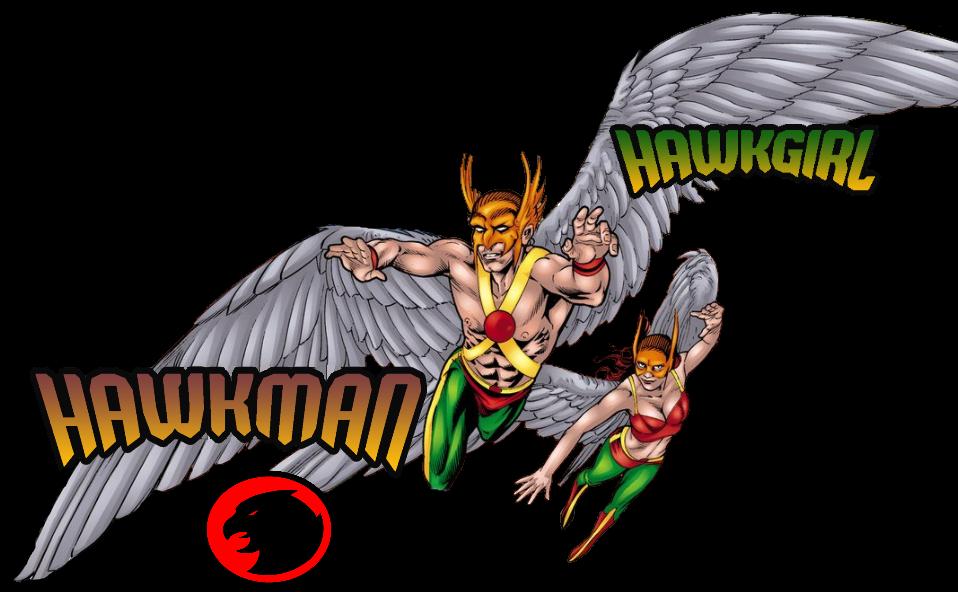 Golden Age Hawkman and Hawkgirl Wallpaper by Gilgamesh Scorpion on 958x592