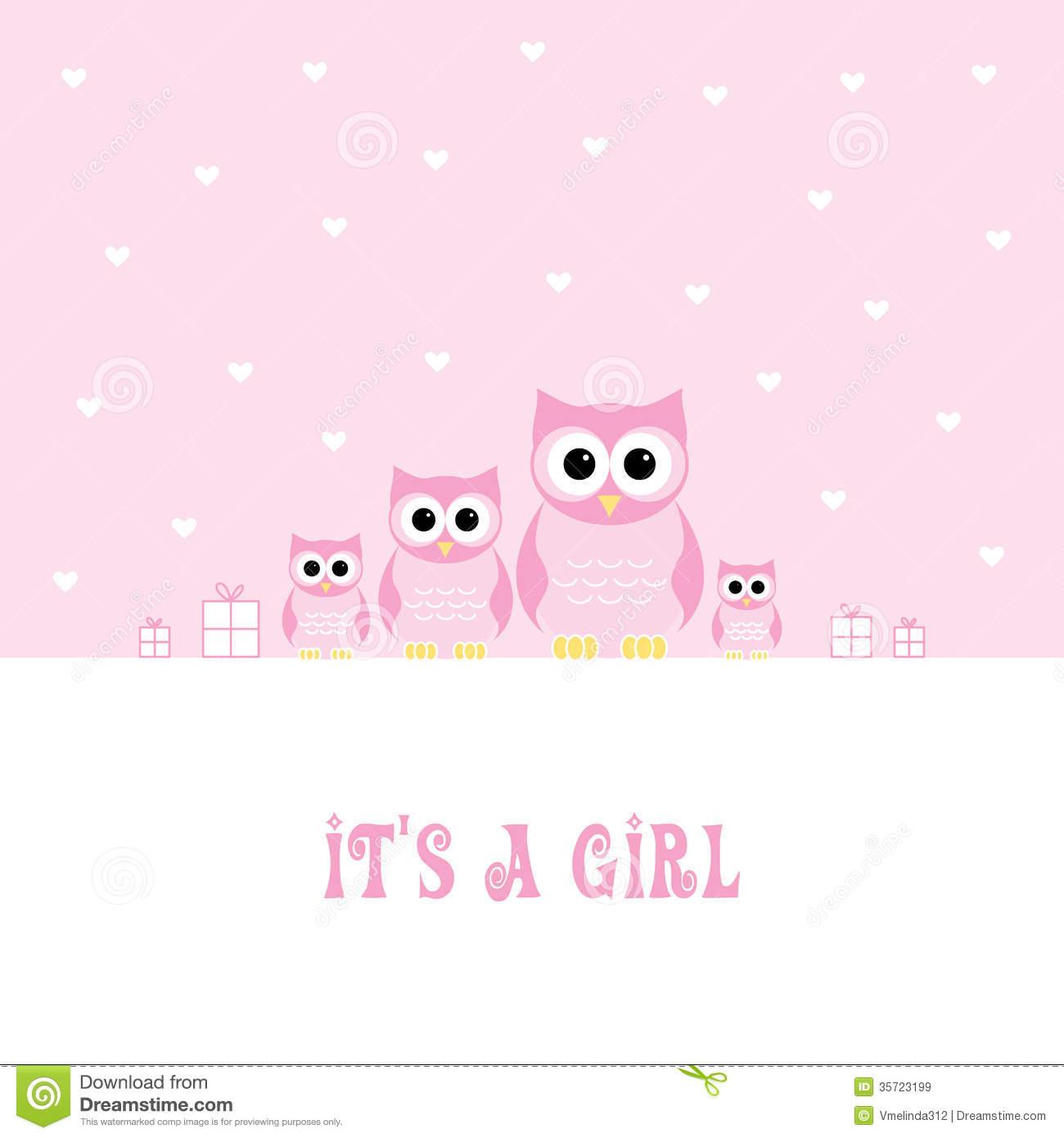 Baby Girl Wallpaper: It's A Girl Wallpaper Background