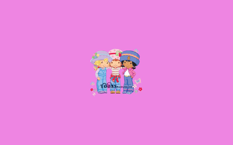 Cartoons Wallpapers   Strawberry Shortcake 1440x900 Pink wallpaper 1440x900